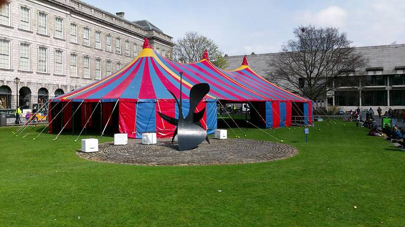 60ft x 120ft (27 x 36m) Non Blackout tent in Dublin