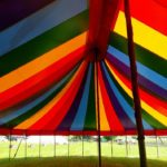 50ft x 75ft Rainbow Big Top