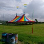 50 ft x 75 ft Rainbow Big Top