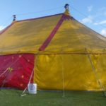 2nd 70ft x 40ft (23 x 12m) Blackout Theatre tent