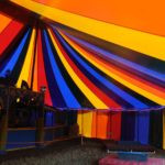 Inside 50ft x 75ft (16 x 24m) Rainbow